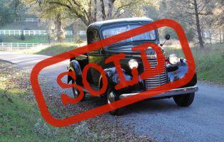 1940 Chevrolet 1/2 ton Pick Up
