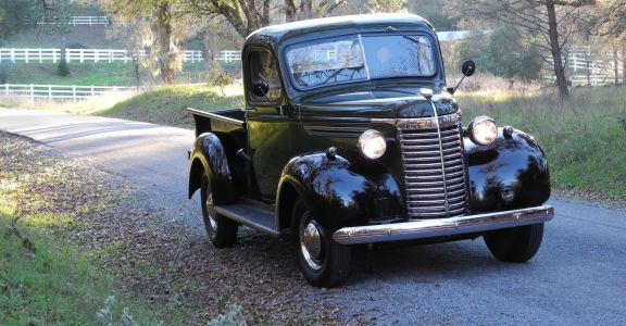 1940 Chevrolet 1/2 ton Pick Up perspective