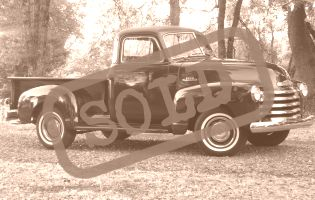 1953 Chevrolet 1/2ton Pick Up
