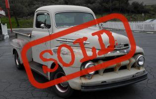 1952 Ford F-1 Pick Up, Original Paint!